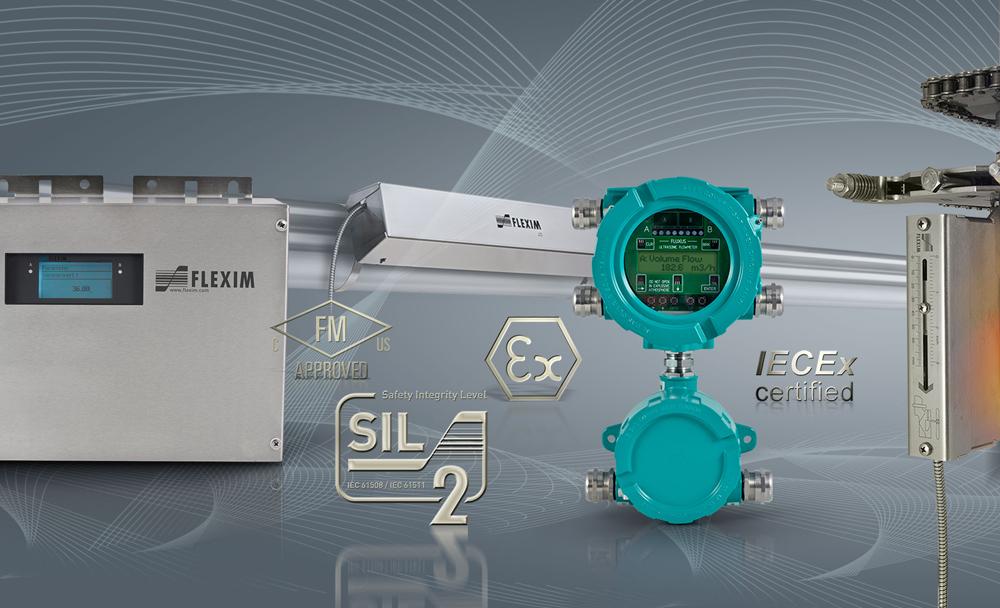 FLEXIM Non-Intrusive Ultrasonic Flowmeters